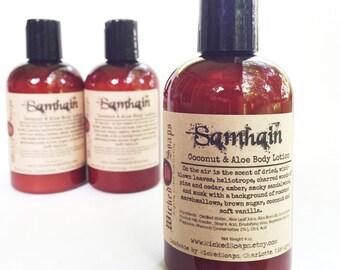 Samhain Body Lotion - Coconut Milk & Aloe Body Lotion with Cocoa Butter