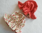 LAST ONE Girl's Strawberry Shortcake Costume Hat, Red with Pink Polka Dots, Halloween Costume Baby Toddler Girl Kid for Halloween