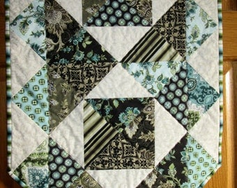 Beautiful Palm Court Quilted Table Runner Benartex Fabric