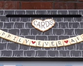 Happily Ever After Banner added to your Wedding Card Box