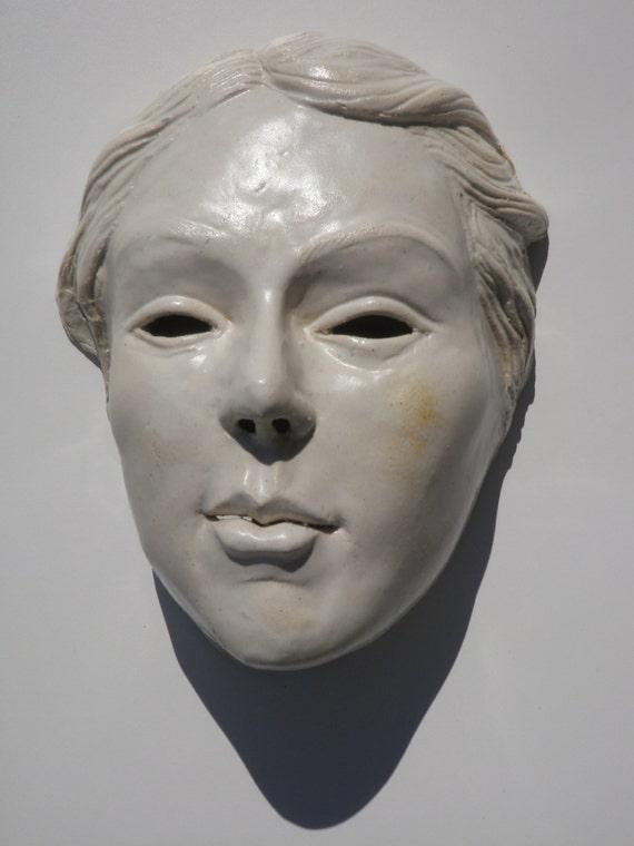 Wall Mask Of Venus Porcelain Portrait Goddess Art After