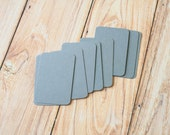 50pc Medium GREY Eco Series Business Card Blanks