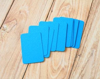 50pc Medium BLUE Eco Series Business Card Blanks