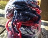 Blue Princess  HandSpun and Hand Dyed Yarn
