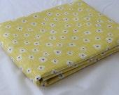 BLUEBIRD PARK 3 yds calico Fountain sunshine yellow modern quilt fabric Kate & Birdie blender 3 full yards 13106-16