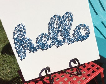 String Art HeLLo Home Decor
