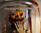 JACK Jack O Lantern Halloween Jar