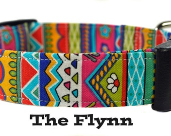 The Flynn - Multicolored Dog Collar
