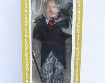 """EFFANBEE 1980 W. C. Fields Doll 15.5"""" Tall~Legend Series NIB"""