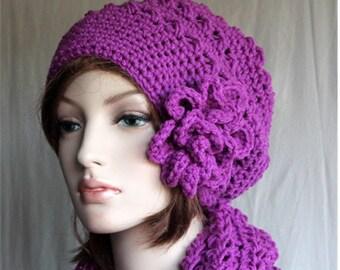 Slouchy Hat, crochet slouchy hat,   womens beanie,  womens hats,  winter hat, womens fashion,   fall crochet hat