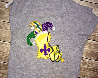 Woman's Mardi Gras Shirt