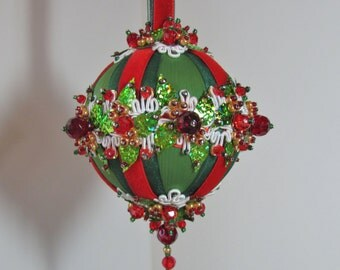 Beaded Christmas Ornament Kit - Garland