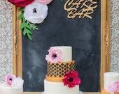 Paper Flower Wall Decor, set of 3  paper flower, paper flower backdrop, extra large paper flower, paper flower centerpieces