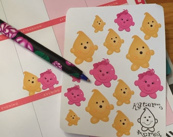 PARKER & Lolly Character Planner Stickers - Kiss Cut