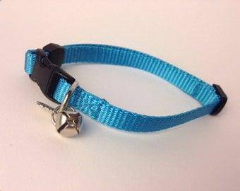 Cat Collar in Basic Ice Blue