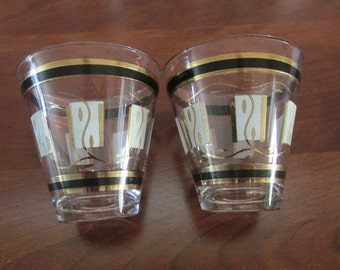 Vintage Hollywood Regency Barware : Two