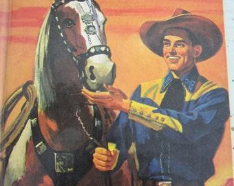 The Wonder Book of Cowboys Vintage 1956 Wonder Book