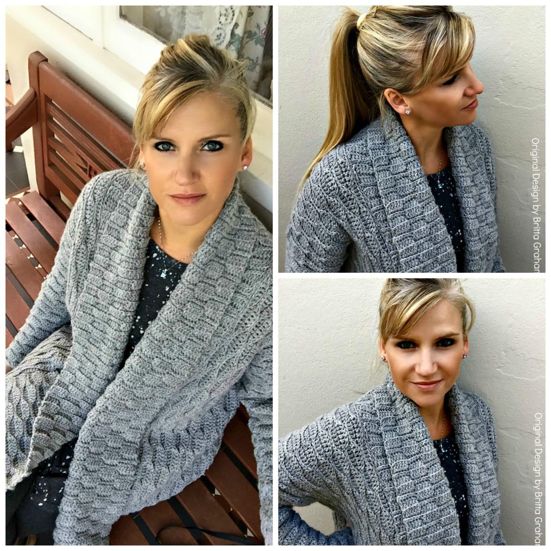 Crochet sweater patterns ladies