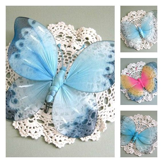 Nursery Wall Decor Butterflies : Baby nursery butterfly decor room wall