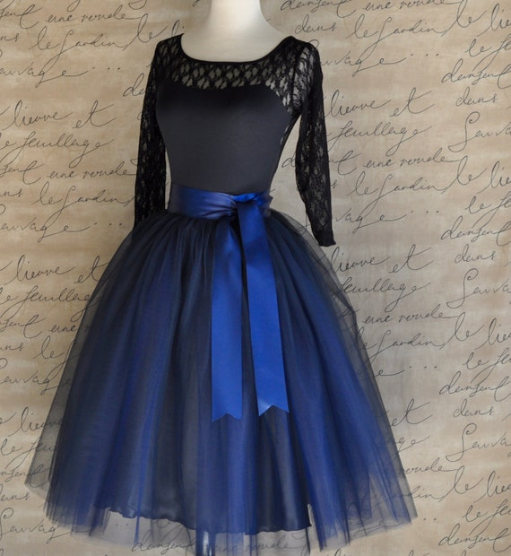 Dguisement - Jupe-tutu en tulle - Bleu - My little Day