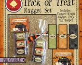 Trick or Treat Printable Nugget Set