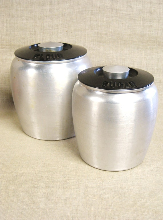 kitchen canisters flour sugar canister set flour canister sugar canister aluminum 19297