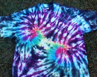 Tie Dye Tshirt Extra-Large Adult Hippie Clothing
