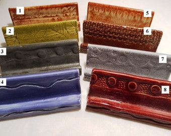 Celadon Textured Business Card Holders