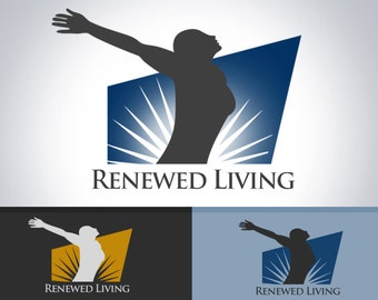 church logo, life logo design