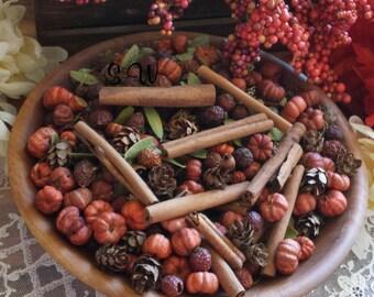 Pumpkin Pie Potpourri, Fall Potpourri, Simmering Potpourri, Fall Potpourri bowl filler