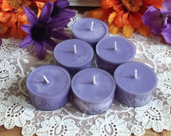 Witching Hour Halloween Tea Lights, Soy Tealights, Soy Wax, Halloween candles