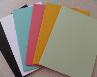 Pistacio Pudding SU! Color Cardstock Collection Blank Cards 5 1/2 X 4 1/4