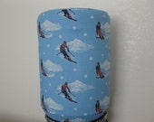Cool Blue Winter Sports-5 Gallon water Bottle Cover