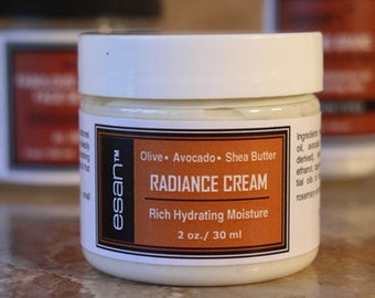 Radiance Cream, Face Moisturizer, Face Cream, Pure Plant Based Natural Skincare