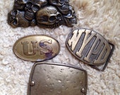 Brass Belt Buckle Collection