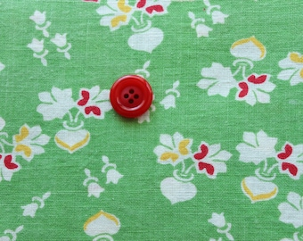Fat Quarter size Vintage Feedsack -131