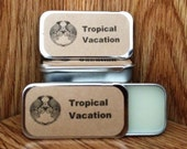 Tropical Vacation Solid Perfume Balm