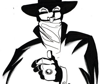 Original Art — The Shadow — Dan Schkade