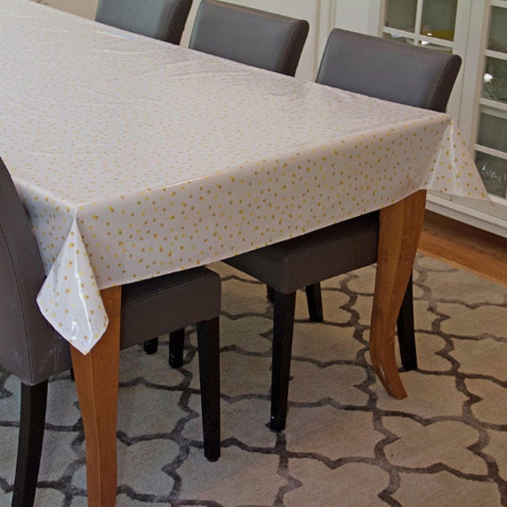 For Emabee Oilcloth Aka Laminated Cotton Tablecloth Fitted