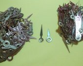 25 Pr New Brass Sword (00) Clock Hour Hands For Scrapbooking, Steampunk, Embellishment