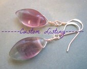 Custom Gemstone Jewelry Listing for Klon Waldrip - Happy Birthday Katharine - Namaste