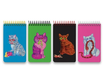 Killer Cat Spiral Notepads by Matt Furie