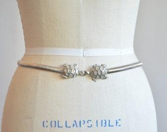 SALE / Vintage 1970s MIMI DI N turtle belt