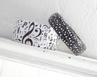 Gift for Music Teacher - Music Student Gift - Music Note Bracelet - Music Teacher Gift - Music Teacher Appreciation Gift - Music Jewelry