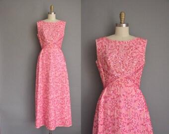 vintage 1950s dress / 50s dress/ Mike Benet sequin sparkle party dress