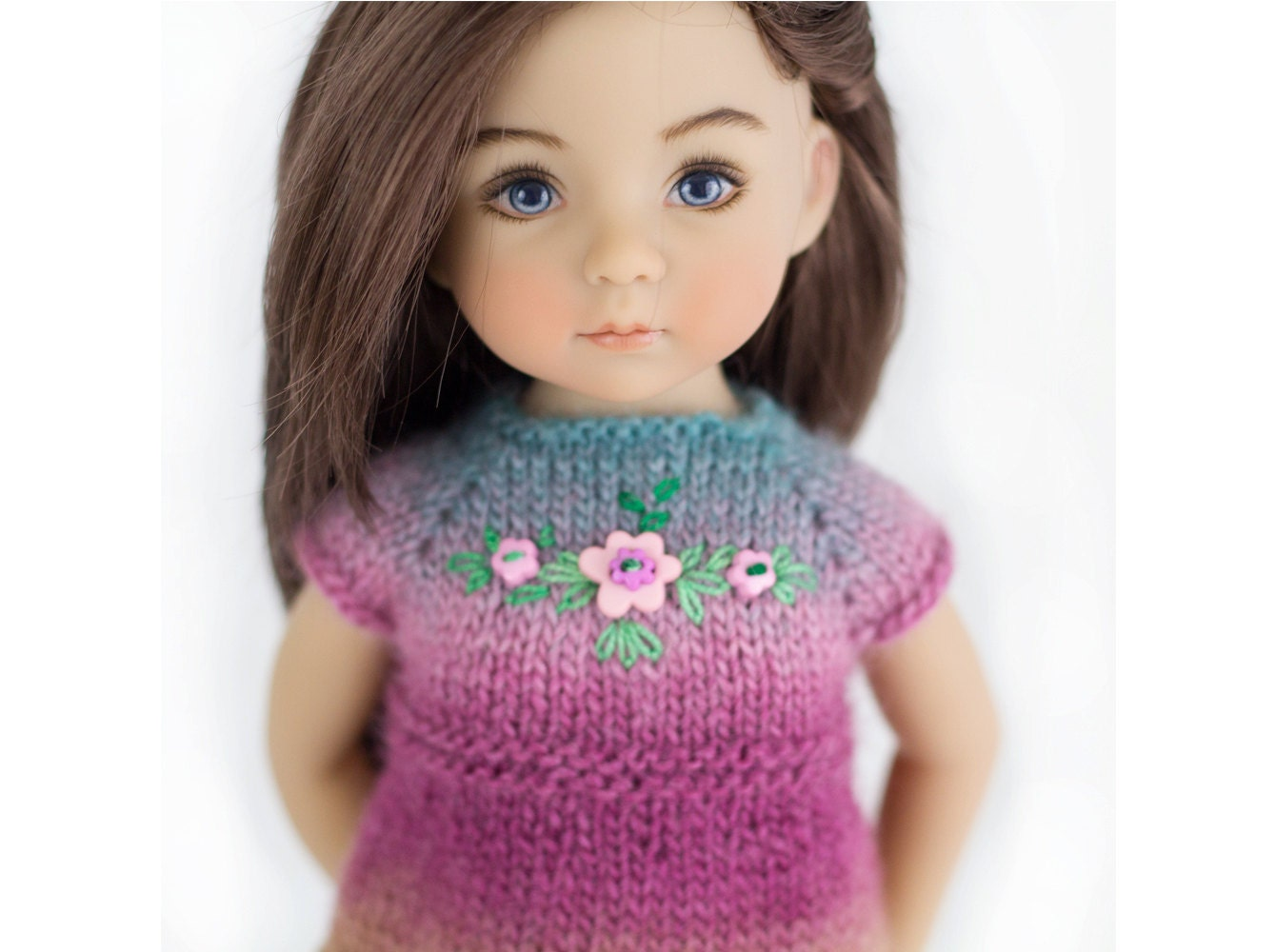 Knitting Patterns For 13 Inch Dolls : Knitting Pattern Little Darling Dolls 13 inch Doll Clothes