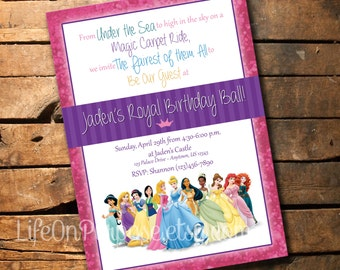 Royal Birthday Ball Invitation