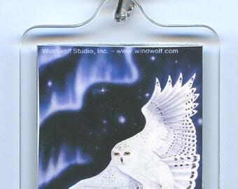 Snowy Owl Key Chain