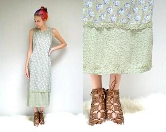 April Cornell Dress  //  90s Rayon Dress  //  THE RAINE