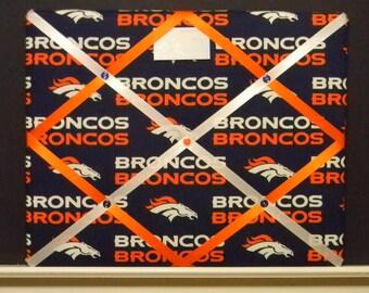 16 x 20 Denver Broncos Memory Board